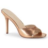 Rosa Ouro 10 cm CLASSIQUE-01 tamancos mulher baixos