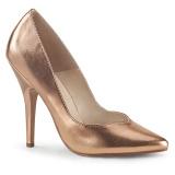 Rosa Ouro 13 cm SEDUCE-420V scarpin de salto alto