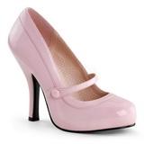 Rosa Verniz 12 cm retro vintage CUTIEPIE-02 Sapatos Scarpin Femininos