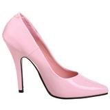 Rosa Verniz 13 cm SEDUCE-420 Sapatos Scarpin Femininos