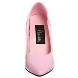 Rosa Verniz 13 cm SEDUCE-420 scarpin de bico fino salto alto