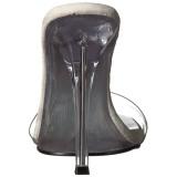 Transparente 11,5 cm GALA-01S tamancos de salto alto