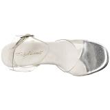 Transparente 11,5 cm GALA-06 Sandálias Salto Agulha Femininos