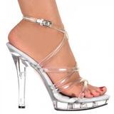 Transparente 13 cm LIP-106 Plateau Sapatos Salto Alto