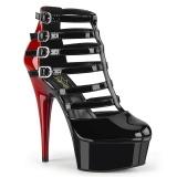 Vegan 15 cm DELIGHT-695 Botas de tornozelo plataforma
