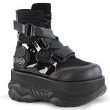 Vegan 7,5 cm NEPTUNE-126 Goticas Sapatos Demonia Homem