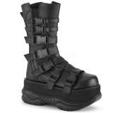 Vegan 7,5 cm NEPTUNE-210 botas demonia - botas plataforma unisex