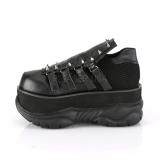 Vegan 7,5 cm NEPTUNE-50 Goticas Sapatos Demonia Homem