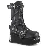 Vegan 8,5 cm TRASHVILLE-250 botas demonia - botas plataforma unisex