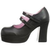 Vegan 9,5 cm Demonia GOTHIKA-09 sapatos plataforma lolita