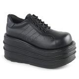 Vegan 9 cm TEMPO-08 Goticas Sapatos Homem Plataforma