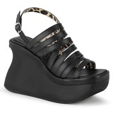 Veganos 11,5 cm Demonia PACE-33 sandálias lolita plataforma