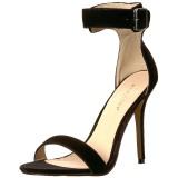 Veludo 13 cm AMUSE-10 sapatos de travesti