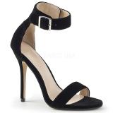 Veludo 13 cm Pleaser AMUSE-10 sandálias de salto alto mulher