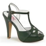 Verde 11,5 cm BETTIE-23 sandálias para noite de gala