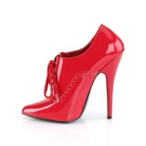 Vermelho 15 cm DOMINA-460 saltos altos sapatos oxford homens