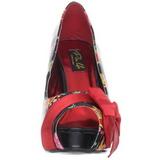 Vermelho Verniz 11,5 cm BETTIE-13 Plataforma Scarpin Salto Alto