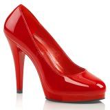Vermelho Verniz 11,5 cm FLAIR-480 sapatos scarpin para homens