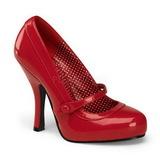 Vermelho Verniz 12 cm retro vintage CUTIEPIE-02 Sapatos Scarpin Femininos