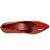 Vermelho Verniz 13 cm SEDUCE-420V Sapatos Scarpin Femininos