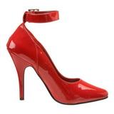 Vermelho Verniz 13 cm SEDUCE-431 Sapatos Scarpin Femininos