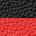 pretos e vermelhos saltos altos